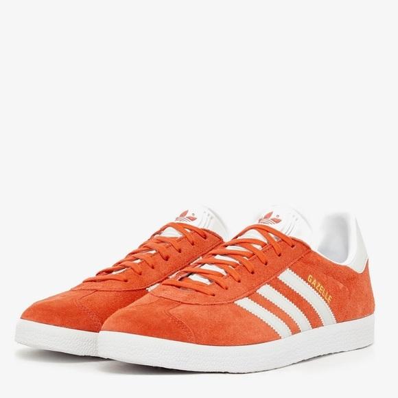 Adidas Gazelle Trainers - Orange